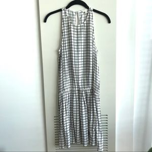 Soft Joie Black and White checkered dress Size S